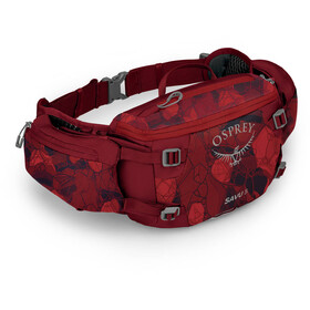 Osprey Savu 5 Waist Bag, claret red